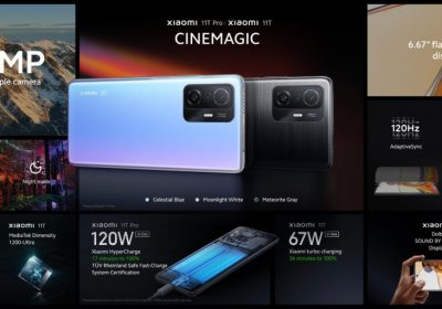 Read more about the article شاومي تكشف عن هواتف Xiaomi 11T مع شحن 120 واط وكاميرا 108 ميجابكسل